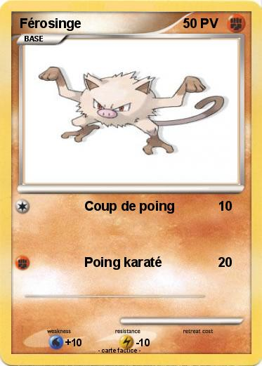 Férosinge Pokemon Go
