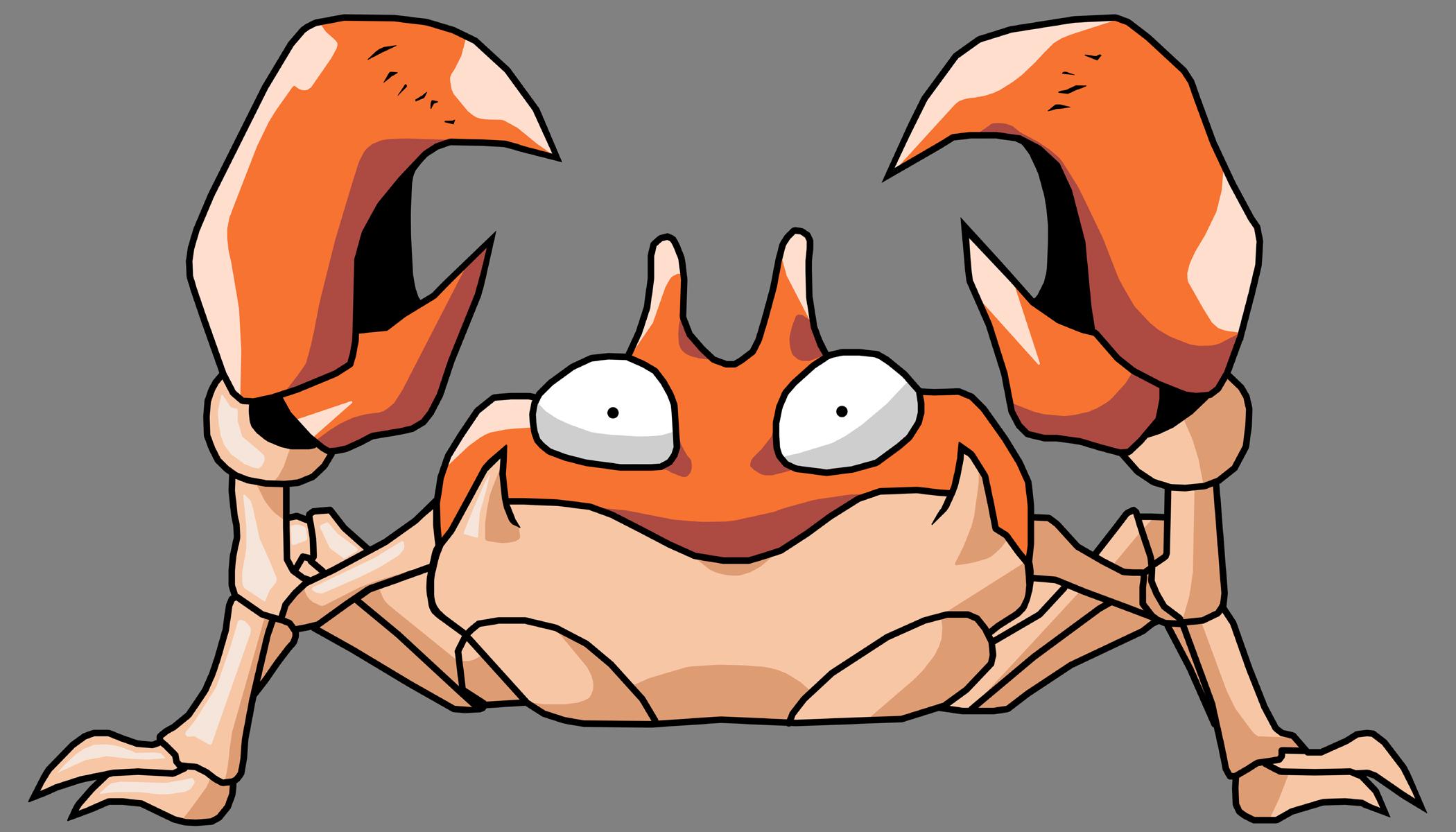 Krabby Pokemon Go  Bourdonné