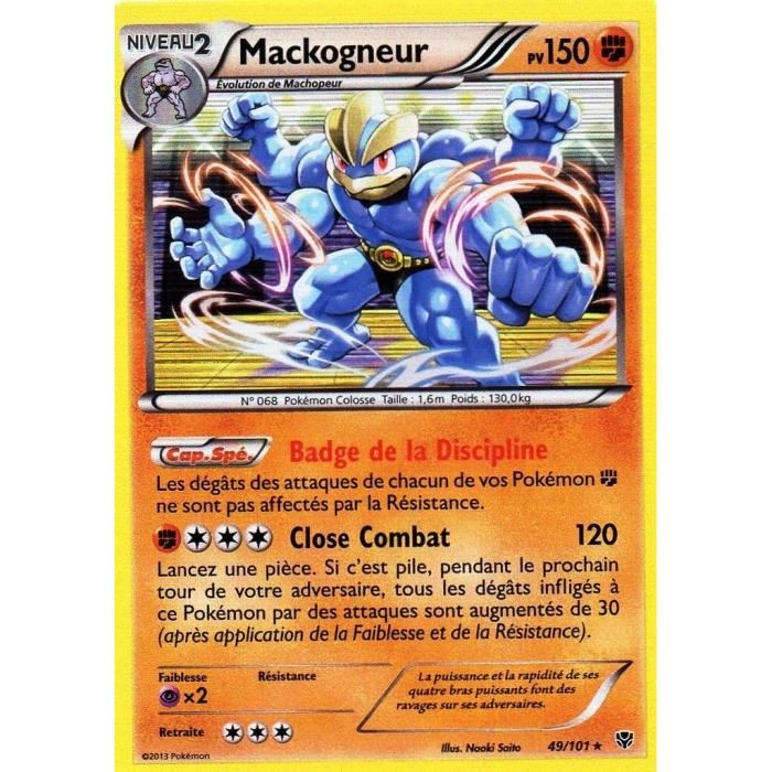 Mackogneur Pokemon Go  Serans