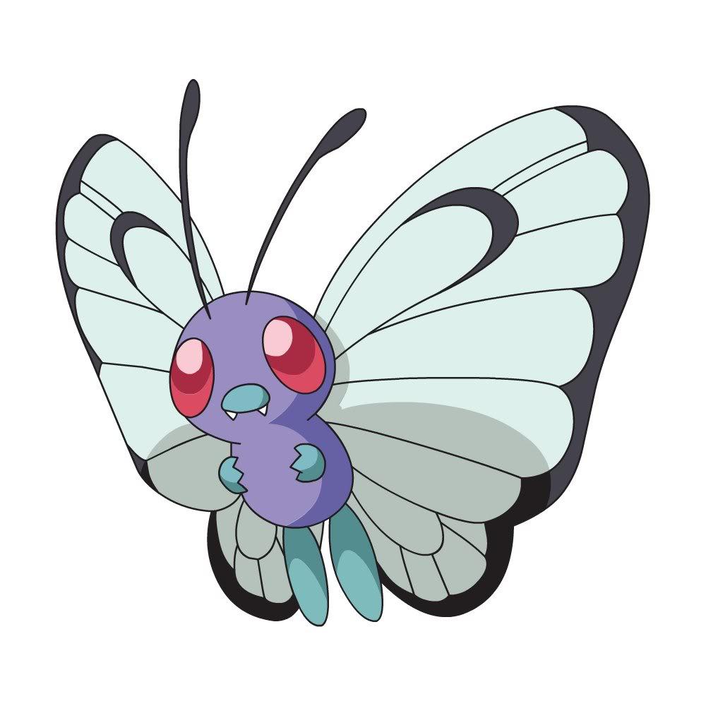 Pokemon Go Papilusion Gif Sur Yvette