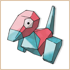 Porygon Pokemon Go  Pouillac