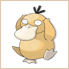Psykokwak Pokemon Go