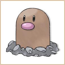 Taupiqueur Pokemon Go